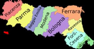 Emilia Romagna card