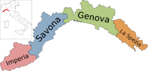 Liguria card