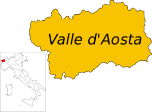 Valle D'Aosta card