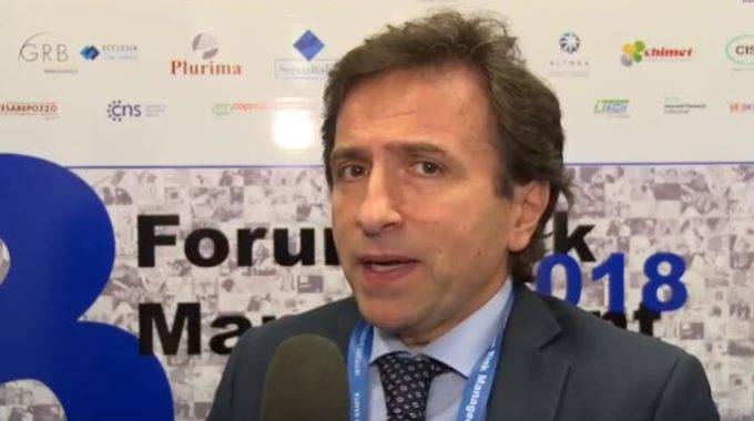 Intervento Del Presidente Volpe Al Forum Risk Management