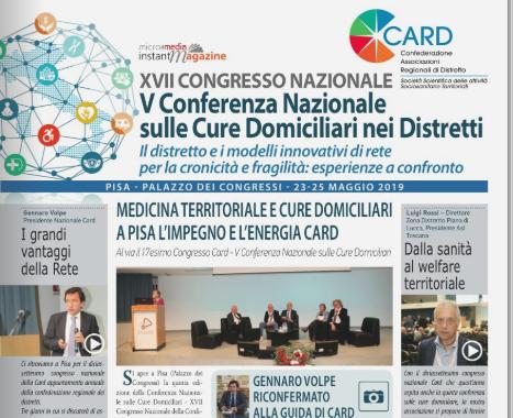 Sfoglia Il Magazine Online Del XVII Congresso CARD Di Pisa