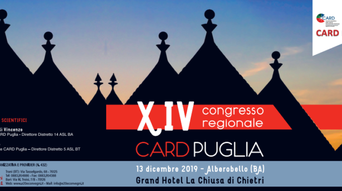 XIV Congresso Regionale CARD PUGLIA
