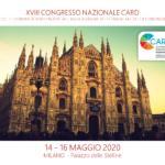 XVIII CARD NAZIONALE (14-16 Maggio 2020): Milano Sede Ospitante