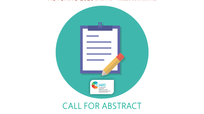 XVIII CARD NAZIONALE: Call For Abstract