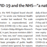 """Offline: COVID-19 And The NHS—""""a National Scandal"""