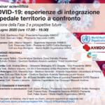 Webinar Scientifico COVID-19: Esperienze Di Integrazione Ospedale-Territorio A Confronto