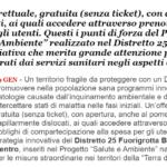 """[QS] Distretto E Prevenzione. Asl Napoli 1 Centro: Come Intercettare La Popolazione """"sana"""" E Prevenire Patologie Da Inquinamento Ambientale E Stili Di Vita Errati"""