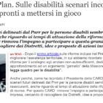 [QS] Recovery Plan, Sulle Disabilità Scenari Incoraggianti: Distretti Pronti A Mettersi In Gioco