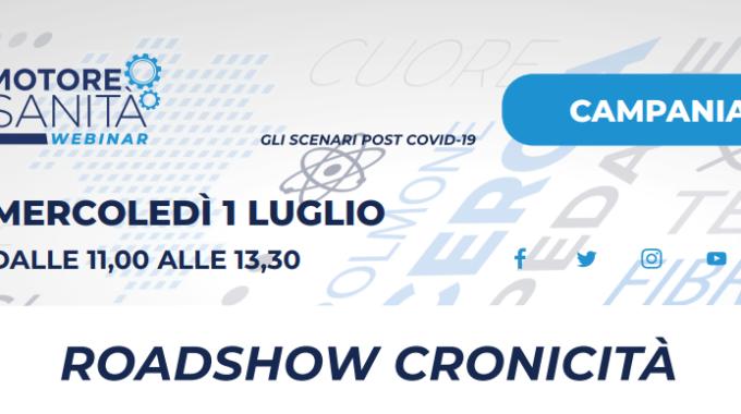 """Webinar Motore Sanità-CARD: Roadshow Cronicità """"Gli Scenari Post Covid-19"""""""