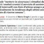 Forum QS/4. La Sanità E Il Governo Draghi. Cosa Aspettarsi? Intervista A Volpe (CARD)